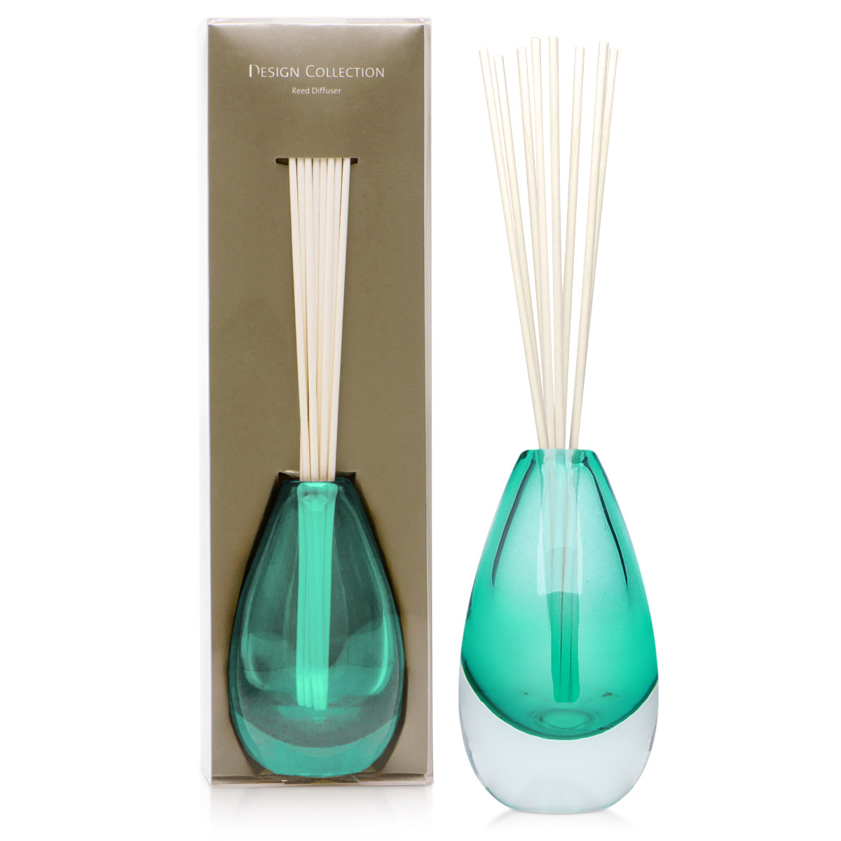 Aroma Diffuser Bottle ~ Design collection green reed diffuser bottle