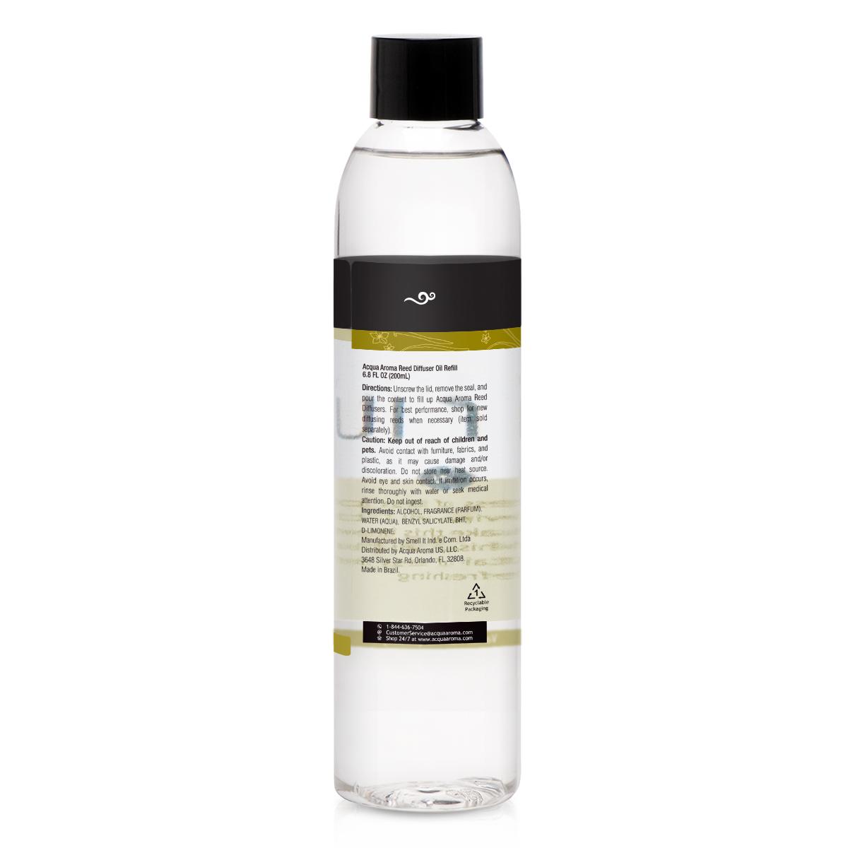 Vanilla Reed Diffuser Oil Refill 68 Fl Oz 200ml Good Hair Spray