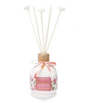romance reed diffuser flowers