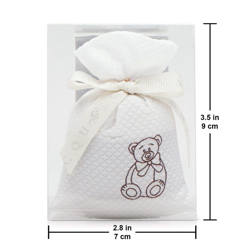 baby fabric scented sachet size