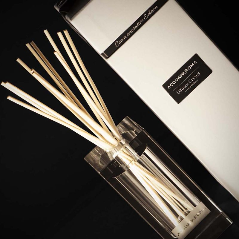 crystal reed diffuser rosemary oil